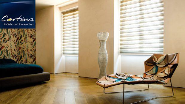 Doppelrollo Sicht- und Sonnenschutz