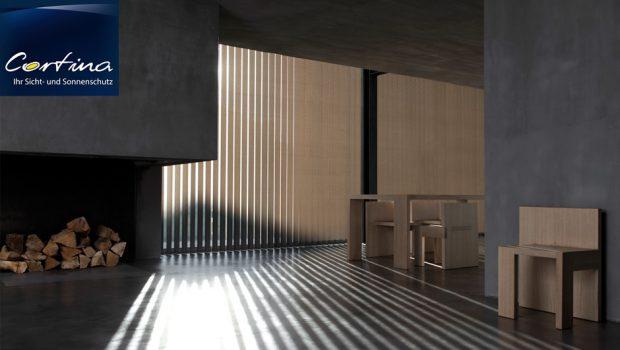 Vertikalanlagen Sicht- und Sonnenschutz